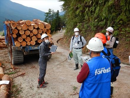 ドローンとAssist Zを使った『森林ICT先端技術普及研修』