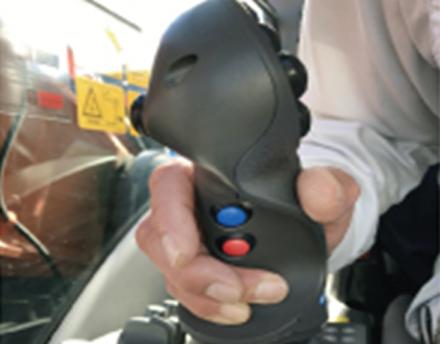 手元のボタン操作で設計値をオフセット