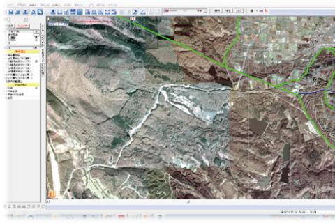背景地図に地理院地図・オリジナル地図利用